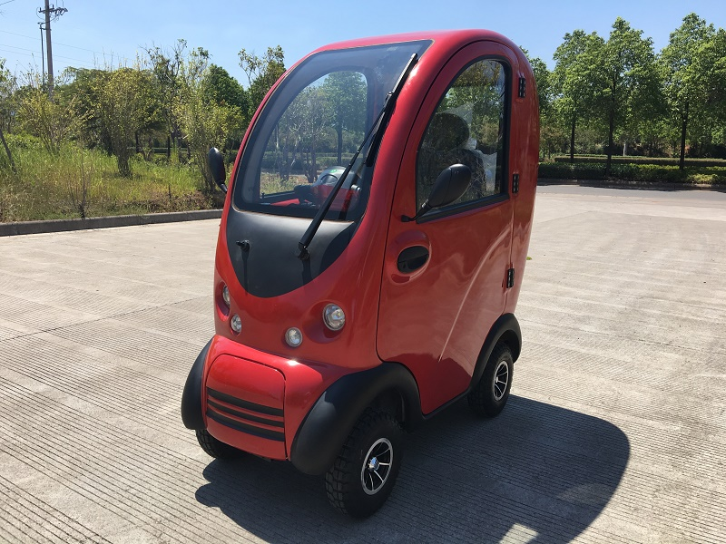 Battery covered cabin electric scooter cheap cabin scooter