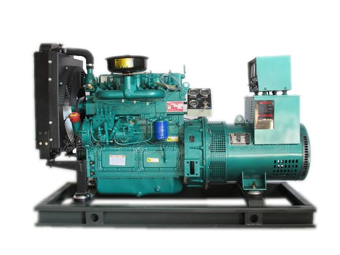 40kw diesel generator set,with silent box and pure copper alternator