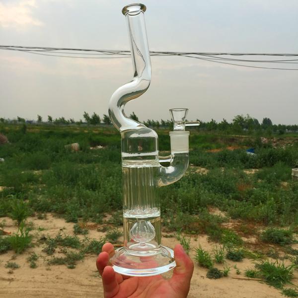 Peyote pillar Glass water pipes bongs smoking bongs