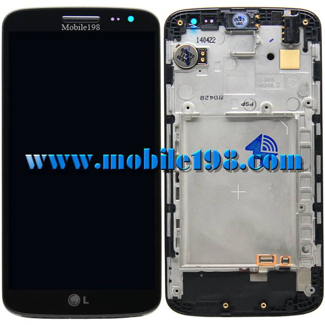 LCD Screen and Digitizer with Front Housing for LG G2 Mini D620