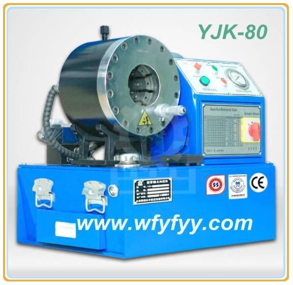 High Pressure Oil Hose Crimper YJK-80 Hydraulic Crimping Machine