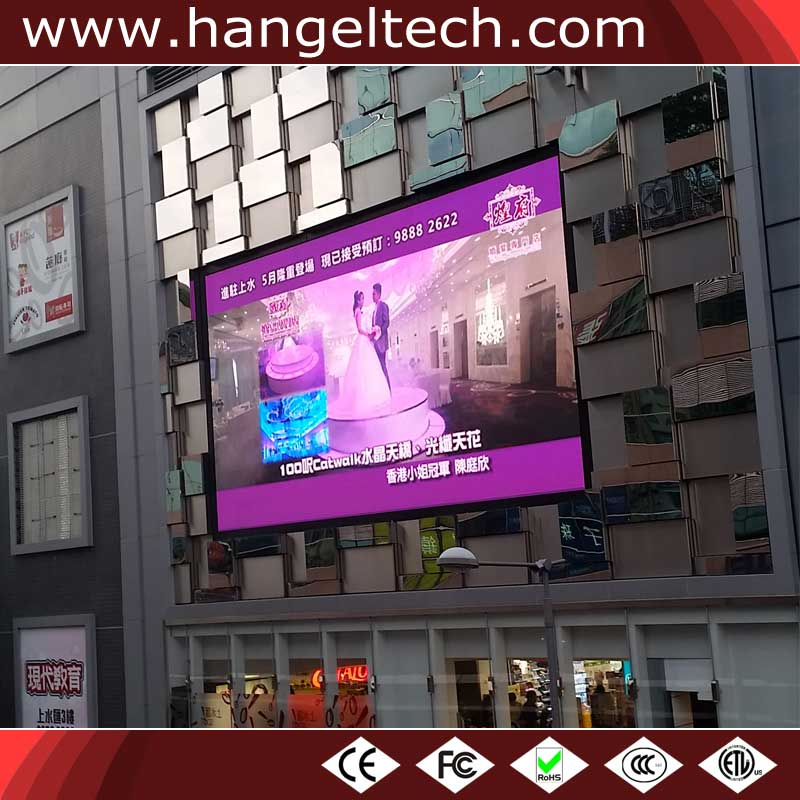 Outdoor P5mm RGB Full Color Large Advertising LED Screen Billboard for Commercial Area