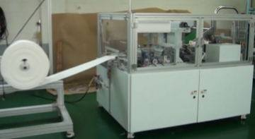 Automatic Cotton Roll Cutting and Rolling Machine