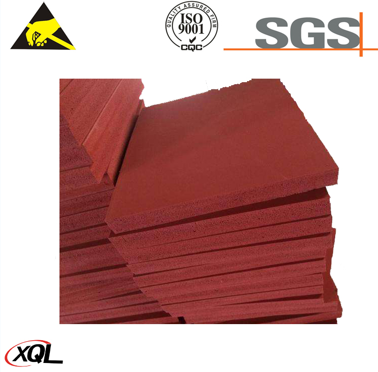 Colorful Heat resistant silicone rubber foam sponge