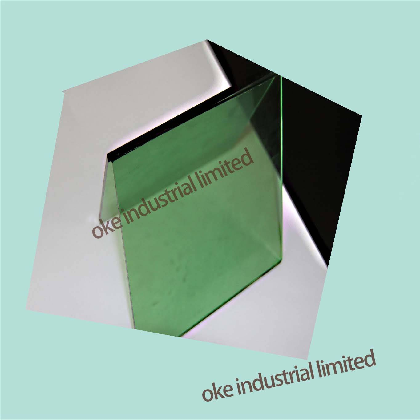 4MM F-GREEN FLOAT GLASS WITH 3660*2134/1830*2440