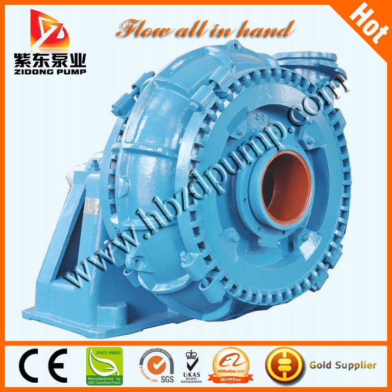 Horizontal centrifugal dredge sand pump