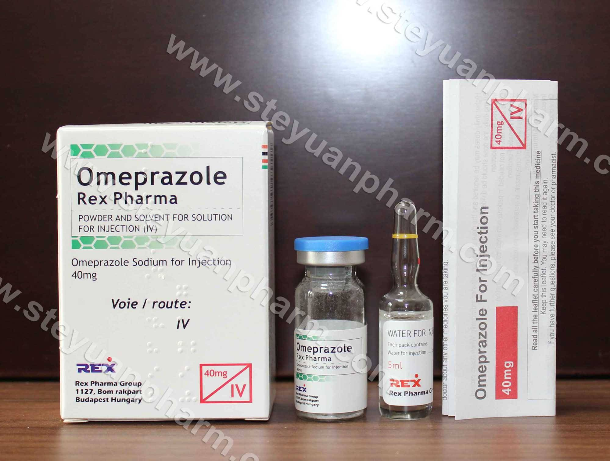 Omeprazole for injection
