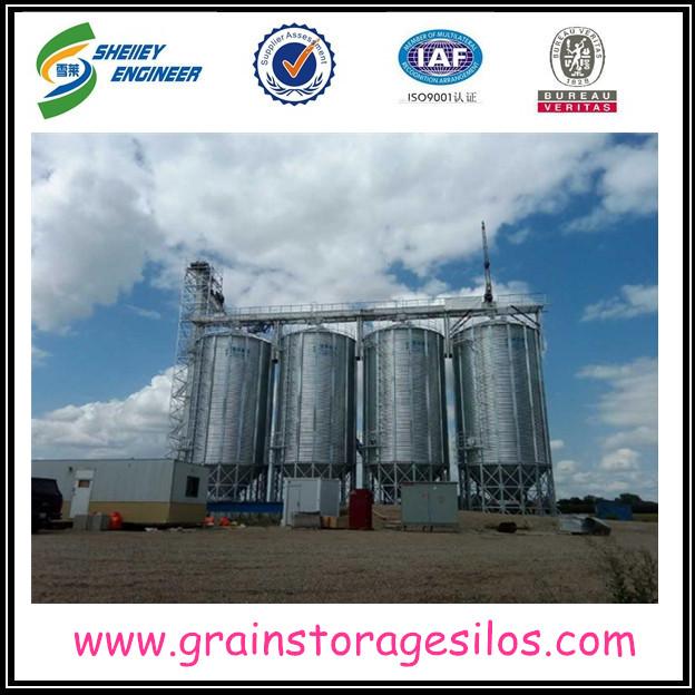 Shelley Hopper Bottom Grain Storage Silo
