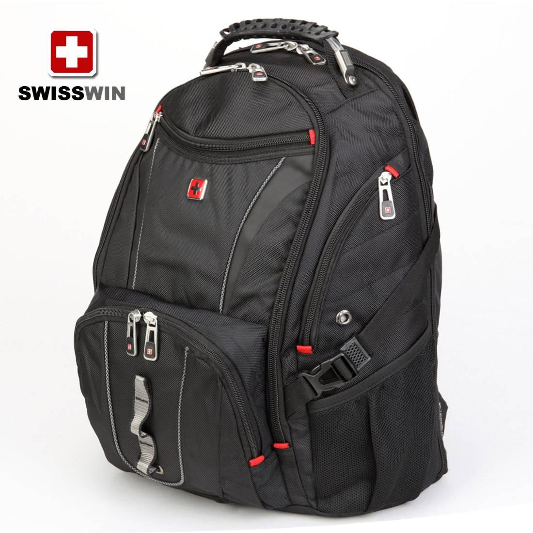 SWISSWIN Army Knife large capacity sports travel backpack computer backpack men's shoulder backpack