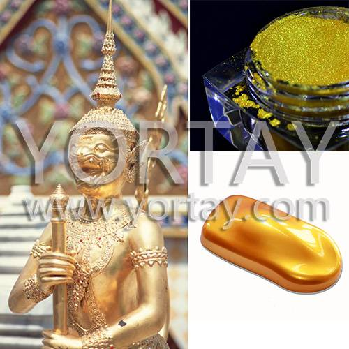 Golden Temple Construction Pigment Pearlescent Materials