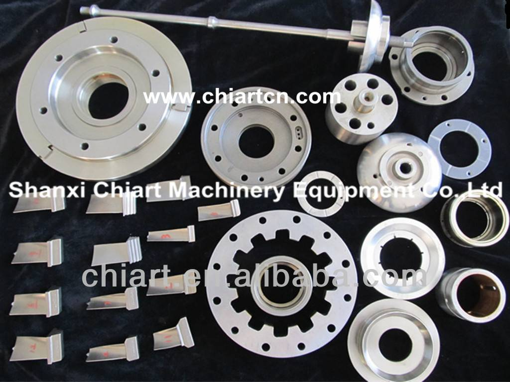Turbocharger replacement spare parts for locomotive engine