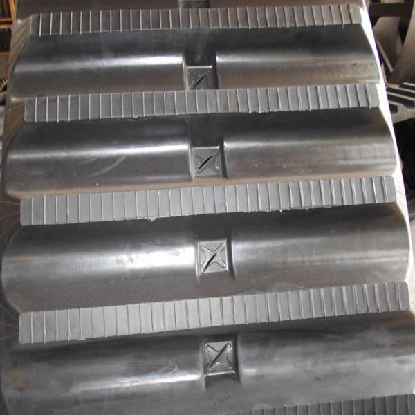 Hitachi Cg70 Rubber Track, Rubber Track for Dumper (650X125X80)