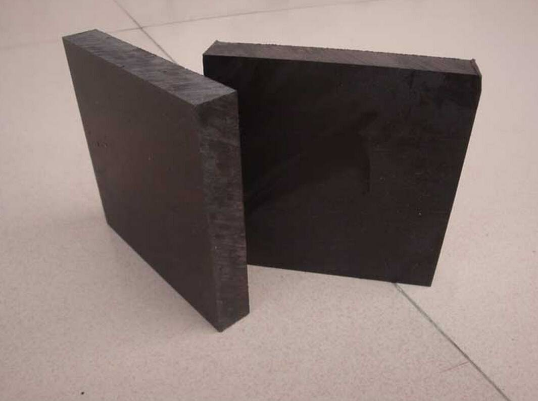 black UHMWPE wear resistant board