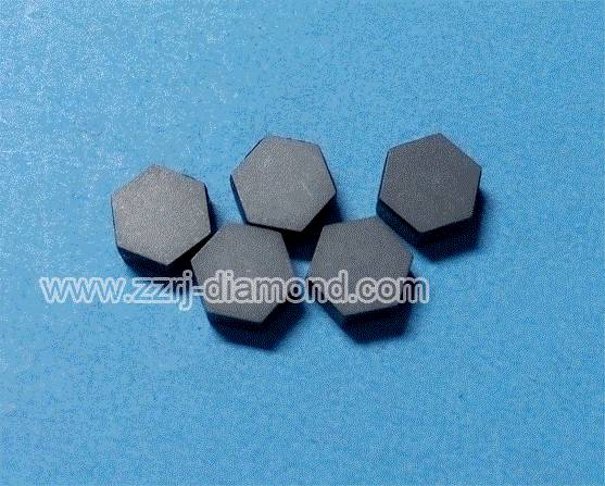 Self Supported Hexagonal Diamond Wire Drawing Die Blanks