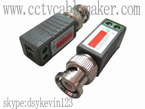 Video balun,cctv connector