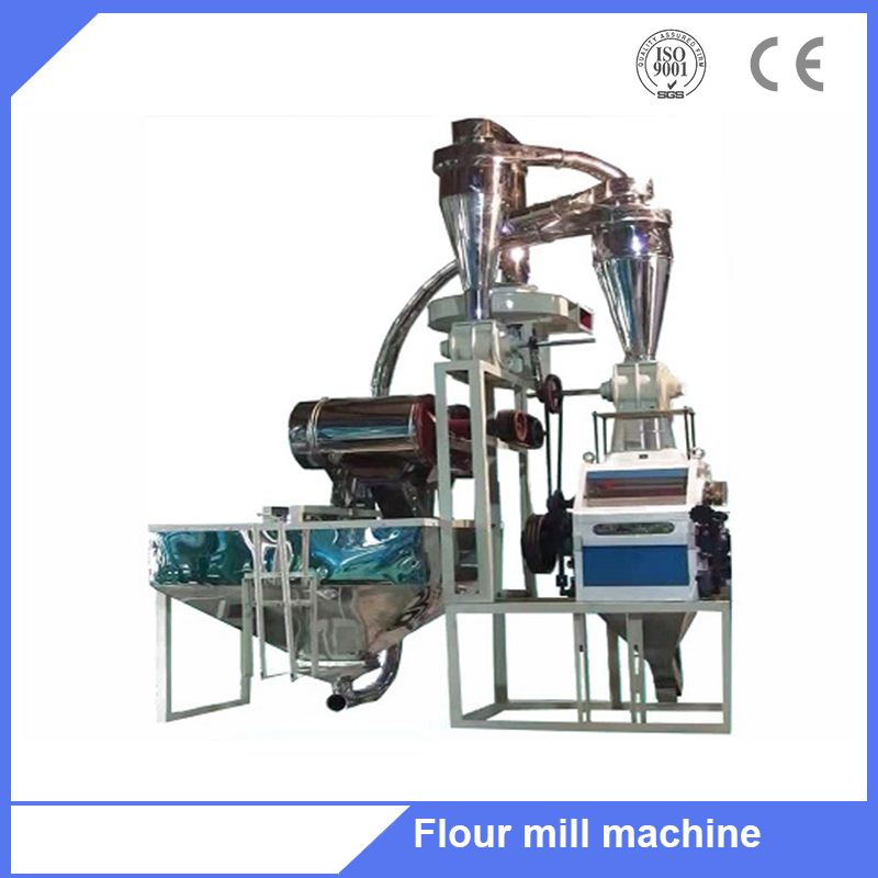 Small automatic grain/wheat/rice flour making plant