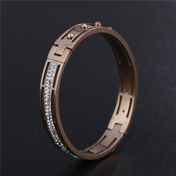PVD Plating Stainless Steel Bracelet For Women Men