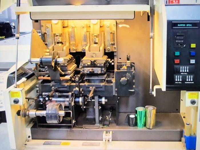 Flexo label printing Labelman Foil stamping | 2000