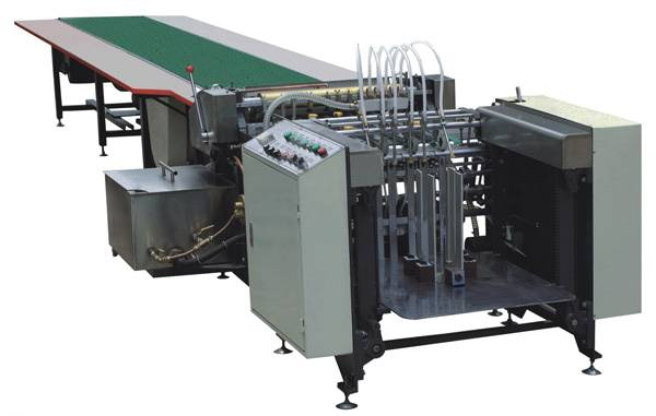 YX-650A Automatic Paper Feeding & Gluing Machine