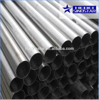 Supply AISI Cold Rolled Steel Round Pipe for Constructions From Made in China