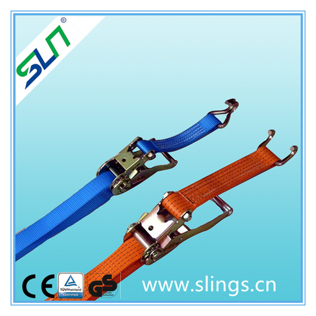 2021 Ratchet tie down cargo with end fittings