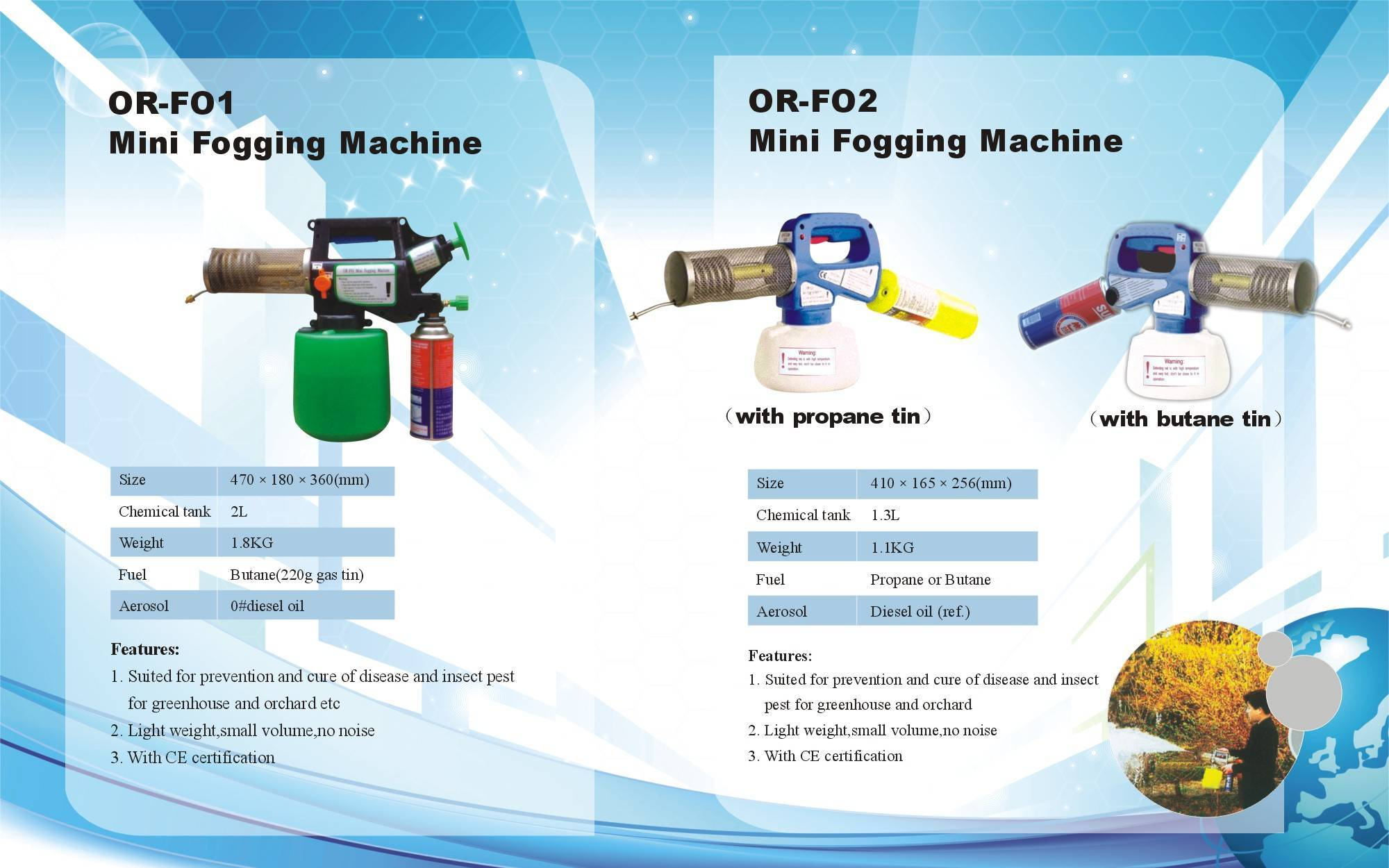 Fog Generator Thermal fogging machine ,Thermal Fogger Machinery for fumigation,disinfection and pest