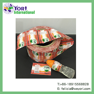 Yori full color printing beverage label printed pet sleeve shrink label