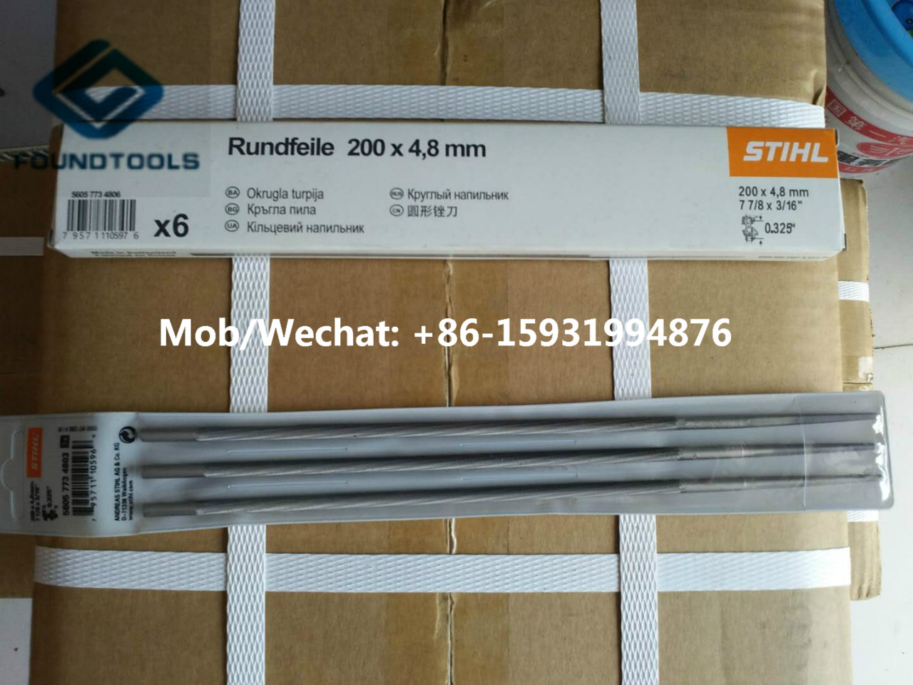 Supply STHIL Chainsaw Files Round Chain Saw Files 4.0mm 4.8mm 5.2mm 5.5mm