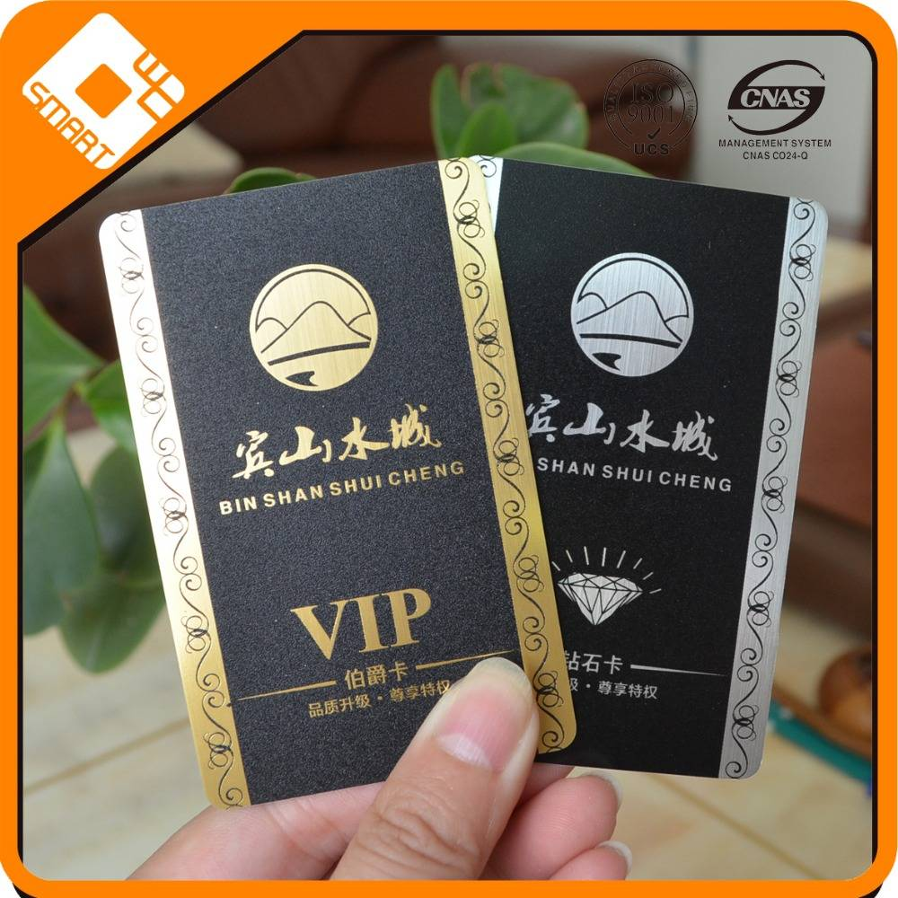 Contactless 1k plastic pvc smart card credit card size made in China