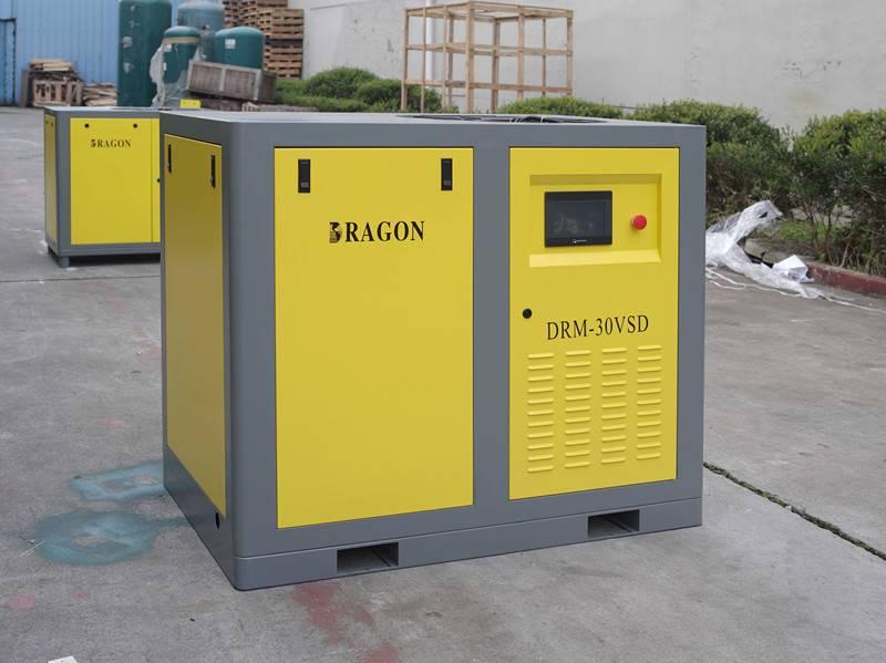 new stationary Dragon screw air compressor 55kw