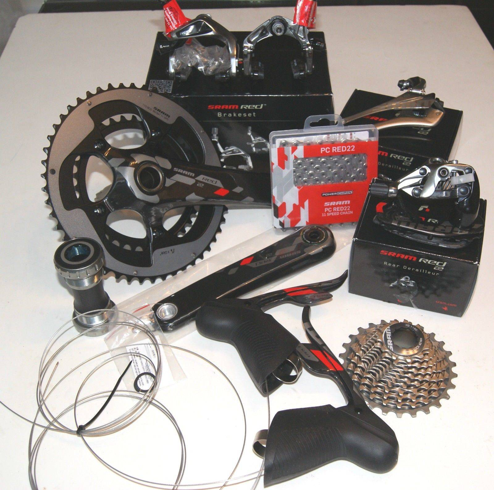 New 2014 SRAM RED 22 8-Piece GXP Groupset Kit