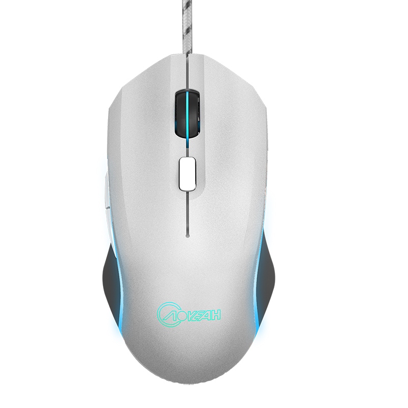 6D Optical Engine Gaming Wired Optical USB Mouse