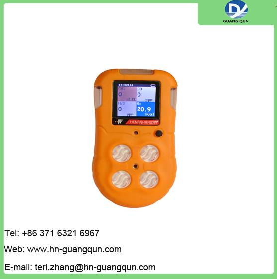 BX616 Portable 4-gas detector with CE