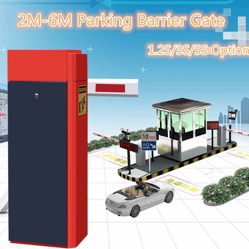 Access Control System Parking Lot Car Park Control Barriers Anti-collision Functions