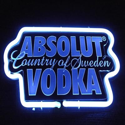 3D glass tube neon sign
