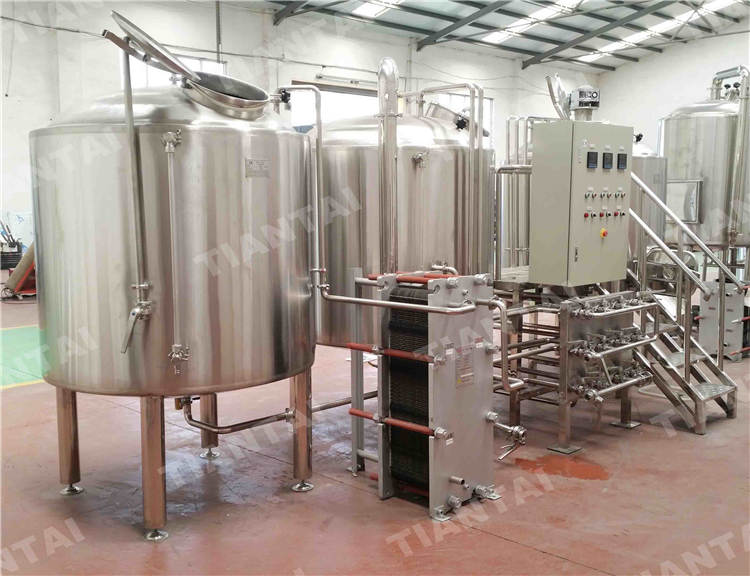 40BBL Vertical Bright Beer Tank