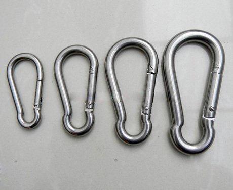 Stainless steel snap hook metal climb spring snap hook