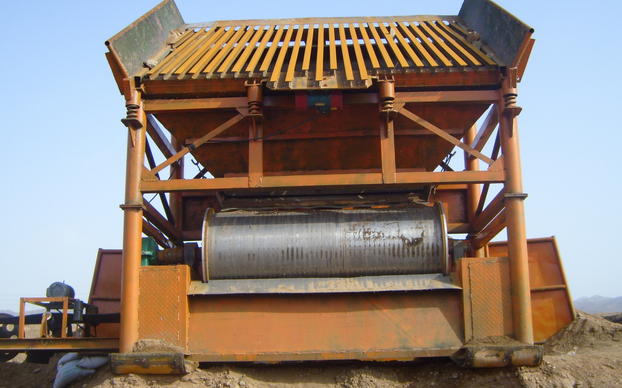 mine dry magnetic separator