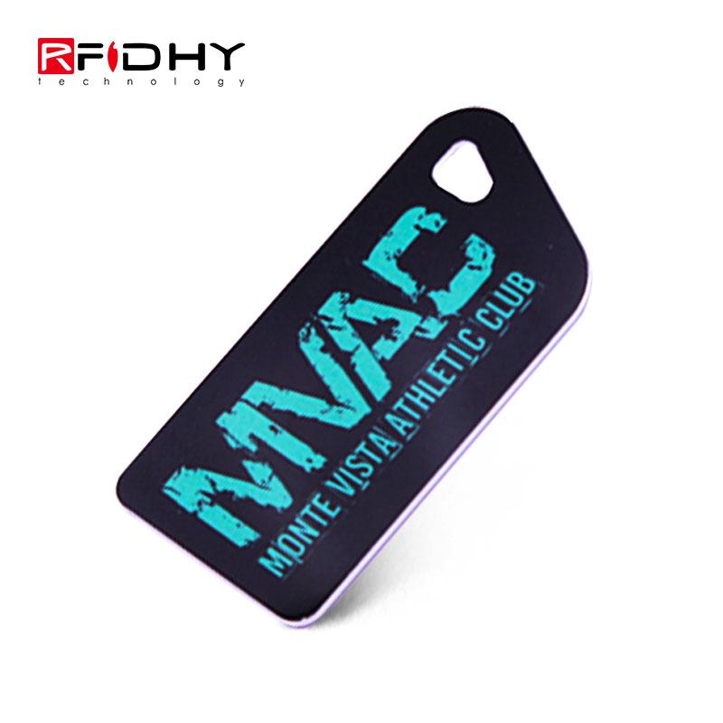 Low price 13.56mhz HF Plastic Key Tag