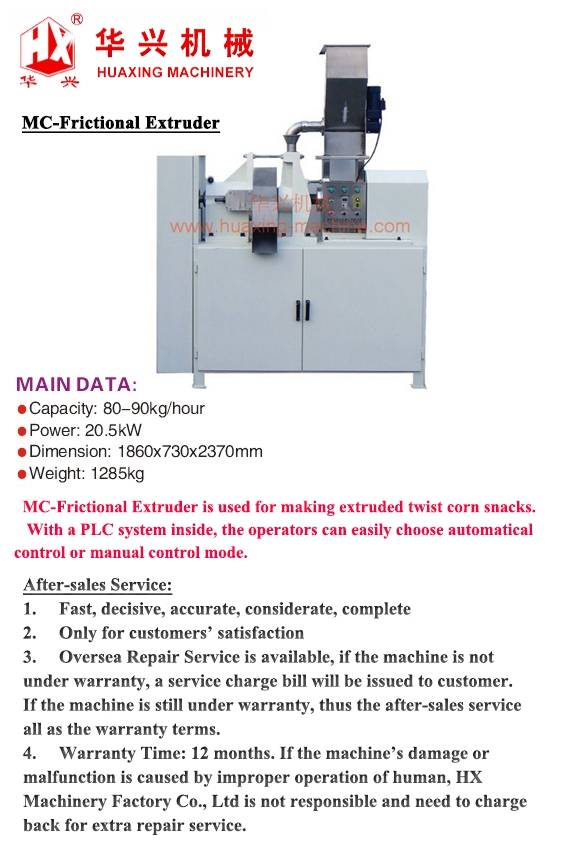 MC-Frictional Extruder