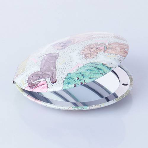 Print Compact Mirror Customized Promotional Gift