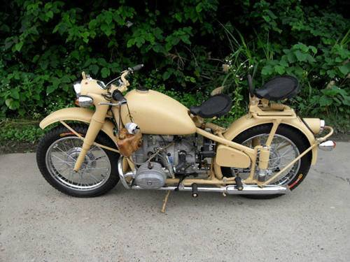 Customized Yellow Color Two Wheels 750cc Motorcycle