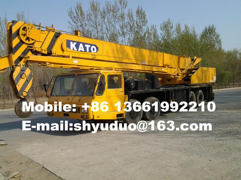 Used 40ton Kato Fully Hydraulic Truck Crane-used mobile crane,used hydraulic crane NK400E
