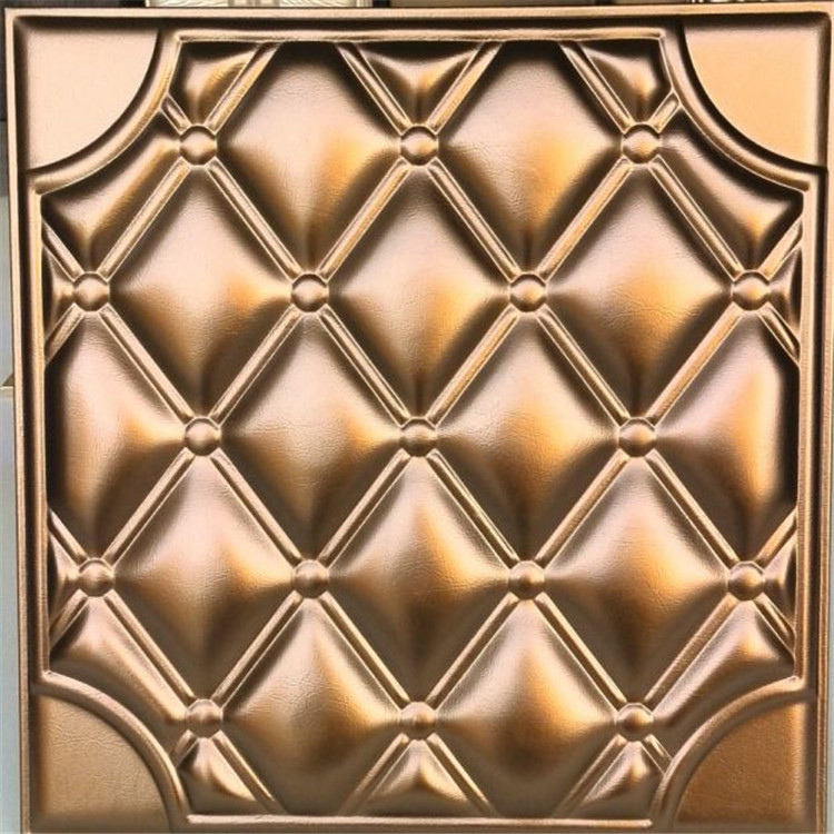 3D Decorative Leather Foam Wall Panel in a variety of styles