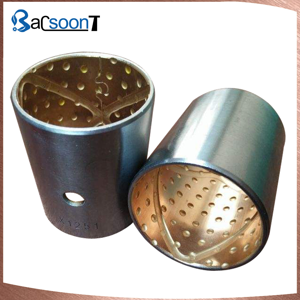 Custom centrifugal casting bronze bushing with machining