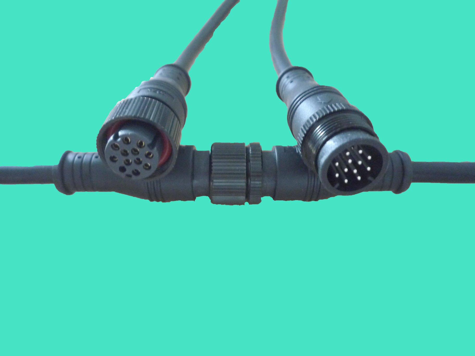 waterproof wire and plug