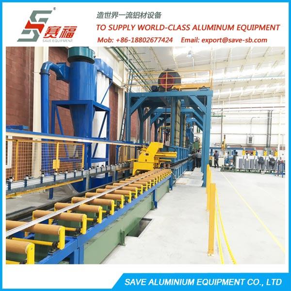 Aluminium Extrusion Profile Air Cooling At Press Exit