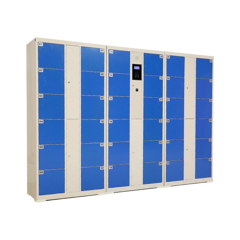Smart touch screen electronic locker Face recognition system metal locker