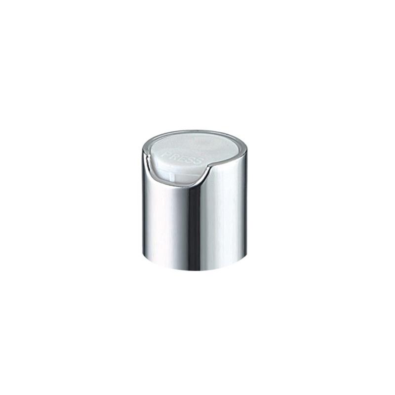 20/410 all plastic and aluminum disc-top cap-Bottle Cap