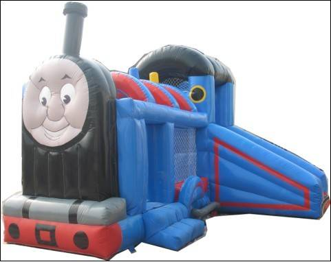 Thomas inflatable castle